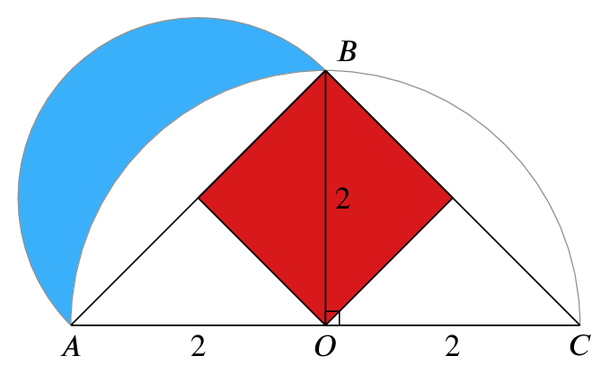 Original diagram with BO extended to a square with diagonal BO